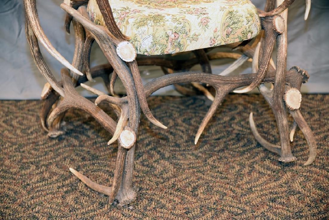 Vintage Antler Lodge Armchair - 2