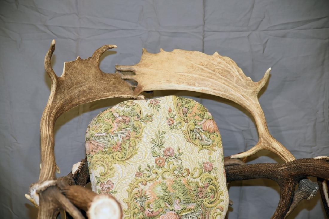Vintage Antler Lodge Armchair - 4