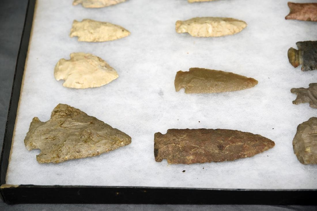 Native American Arrowhead Collection 22 Points - 2
