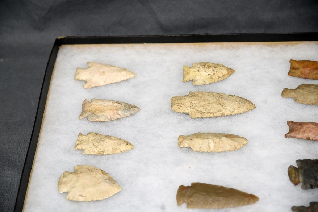 Native American Arrowhead Collection 22 Points - 3