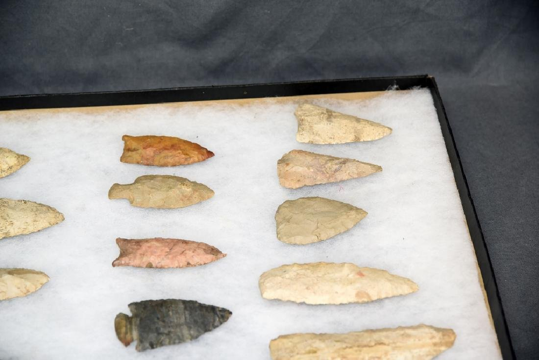 Native American Arrowhead Collection 22 Points - 4