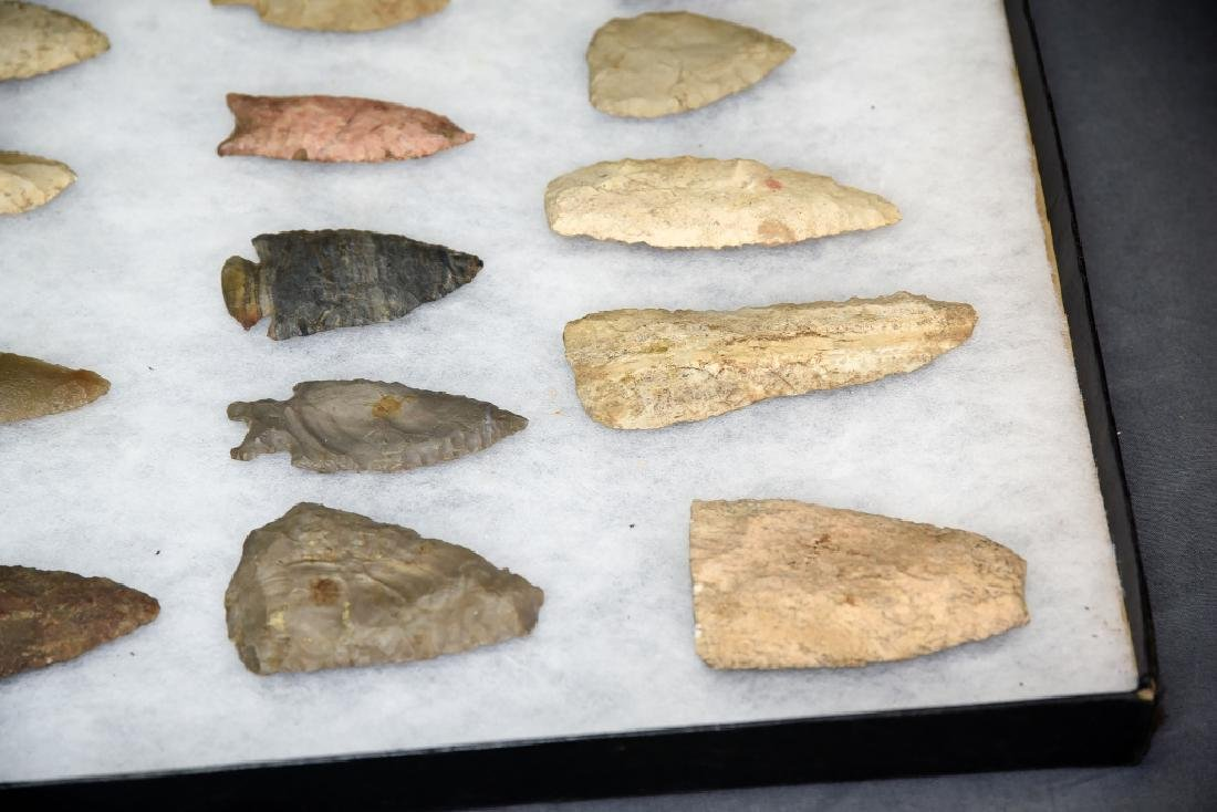 Native American Arrowhead Collection 22 Points - 5