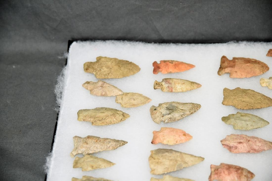 Native American Arrowhead Collection 32 Points - 3