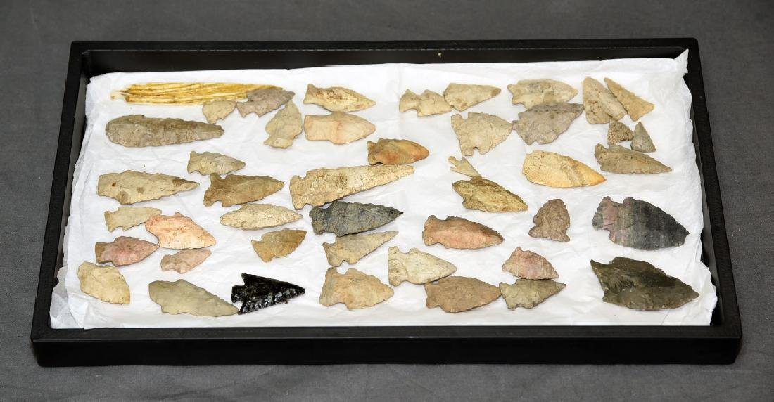 Native American Arrowhead Collection 45 Points