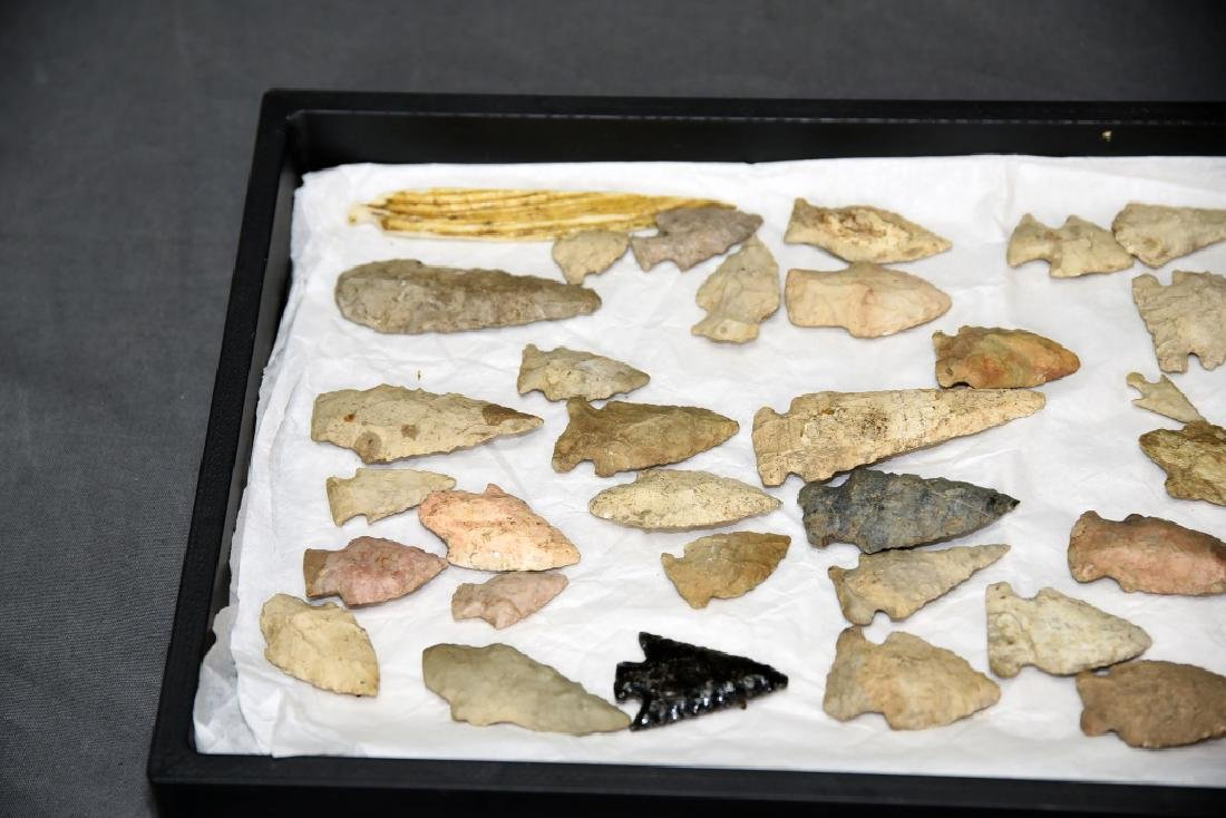Native American Arrowhead Collection 45 Points - 2