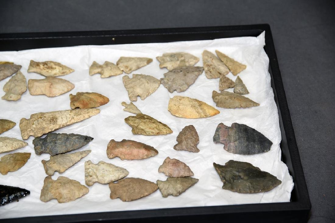 Native American Arrowhead Collection 45 Points - 3