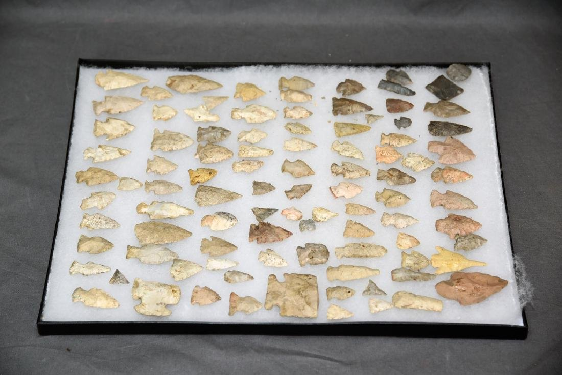 Native American Arrowhead Collection 95 Points