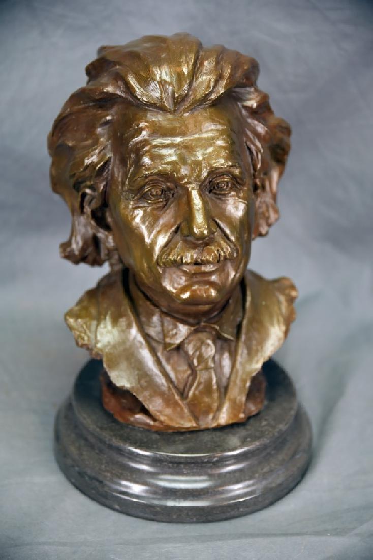 Bronze Bust of Einstein