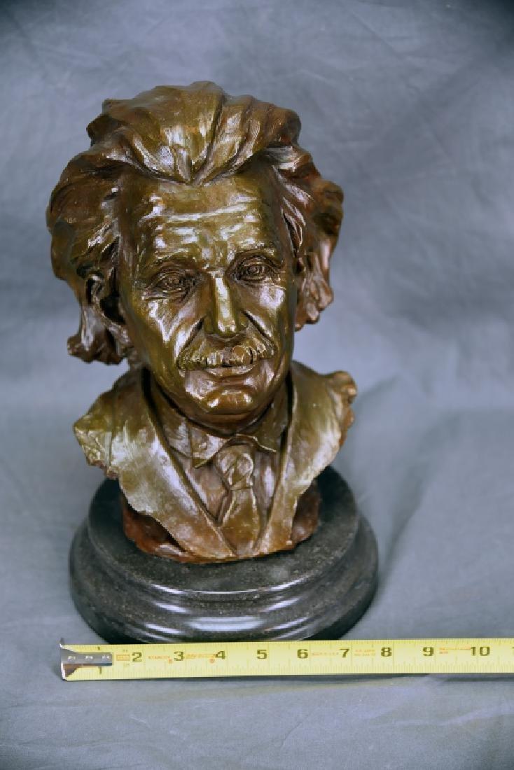 Bronze Bust of Einstein - 2