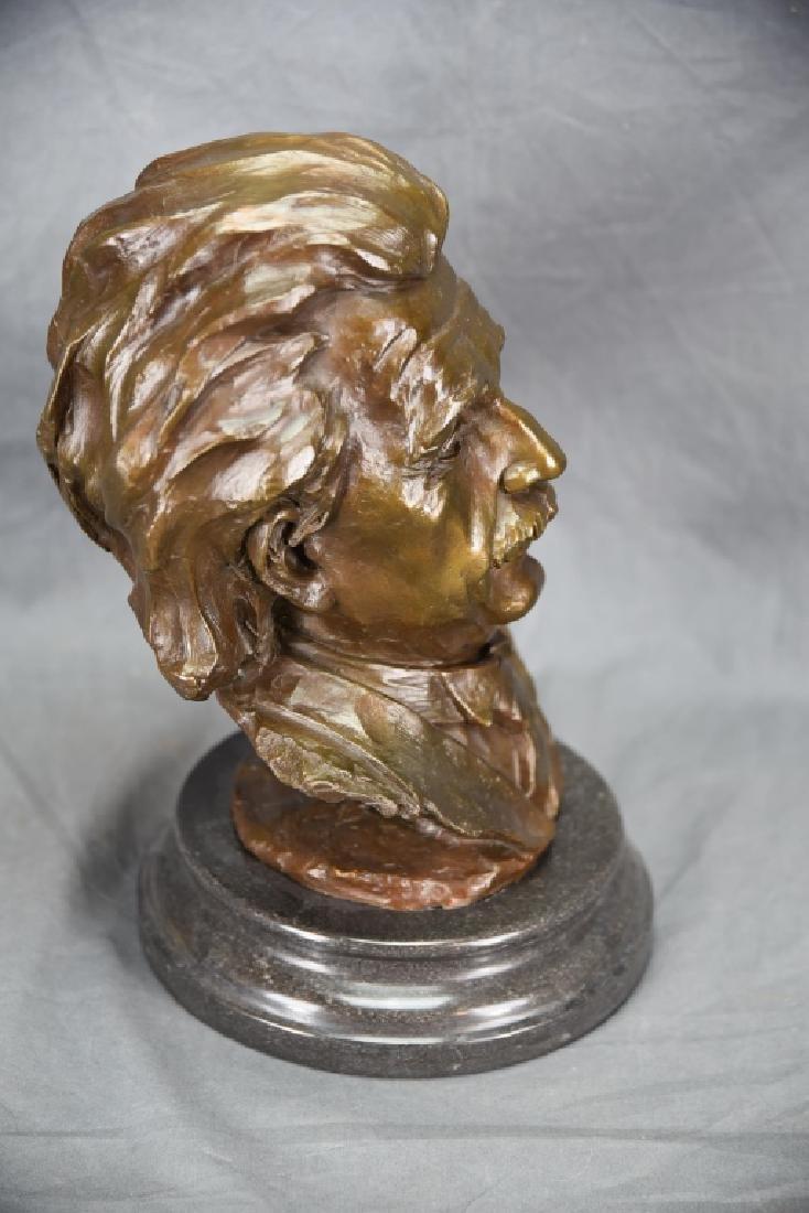 Bronze Bust of Einstein - 3