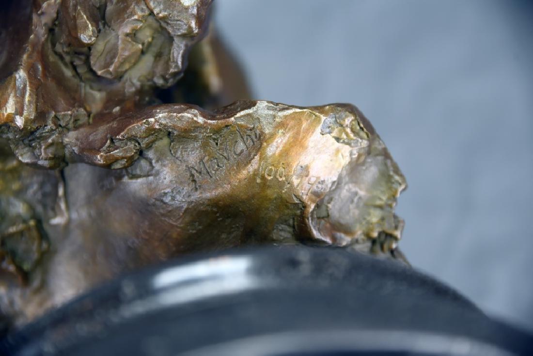 Bronze Bust of Einstein - 5