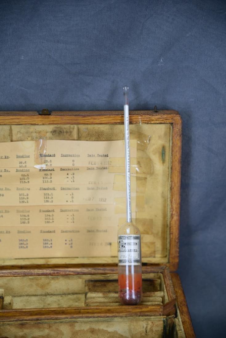 1940s Beer Making Hydrometer Kit - 4