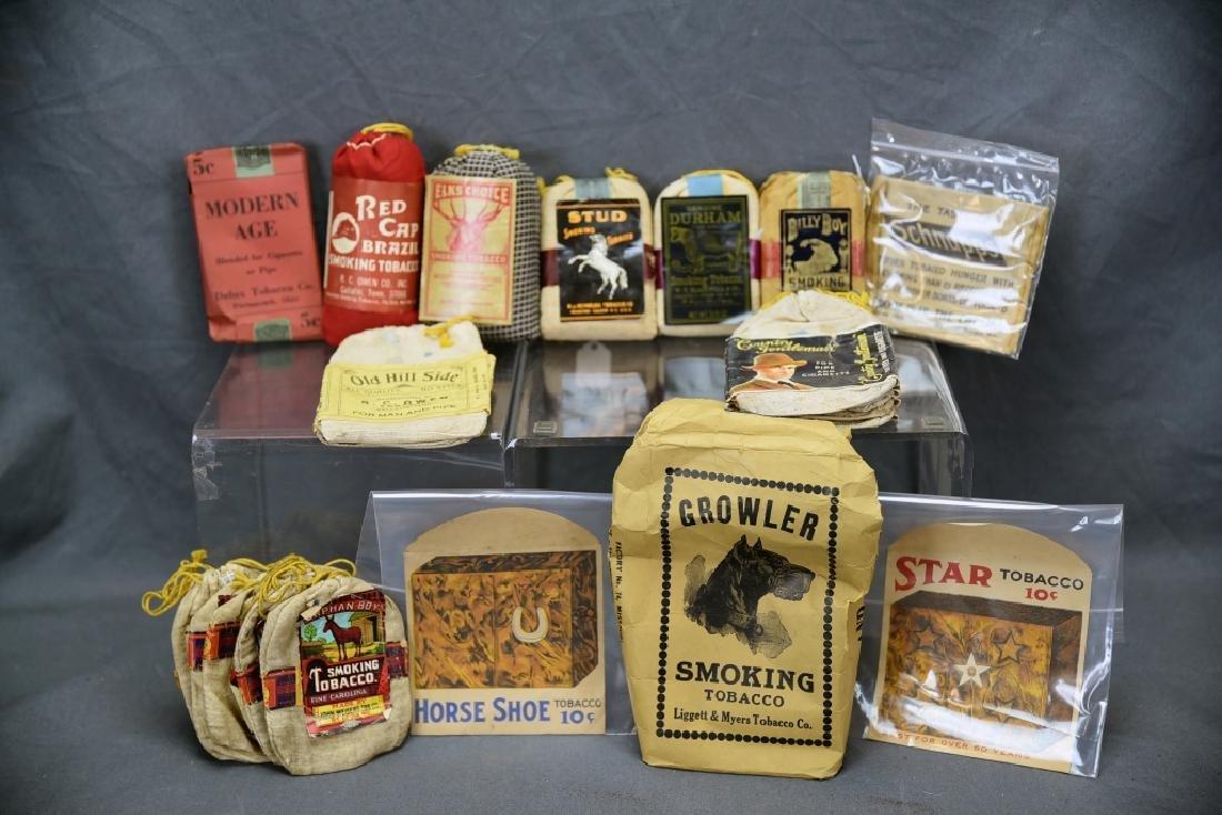26 Smoking Tobacco Bags - Stud, Orphan Boy more..