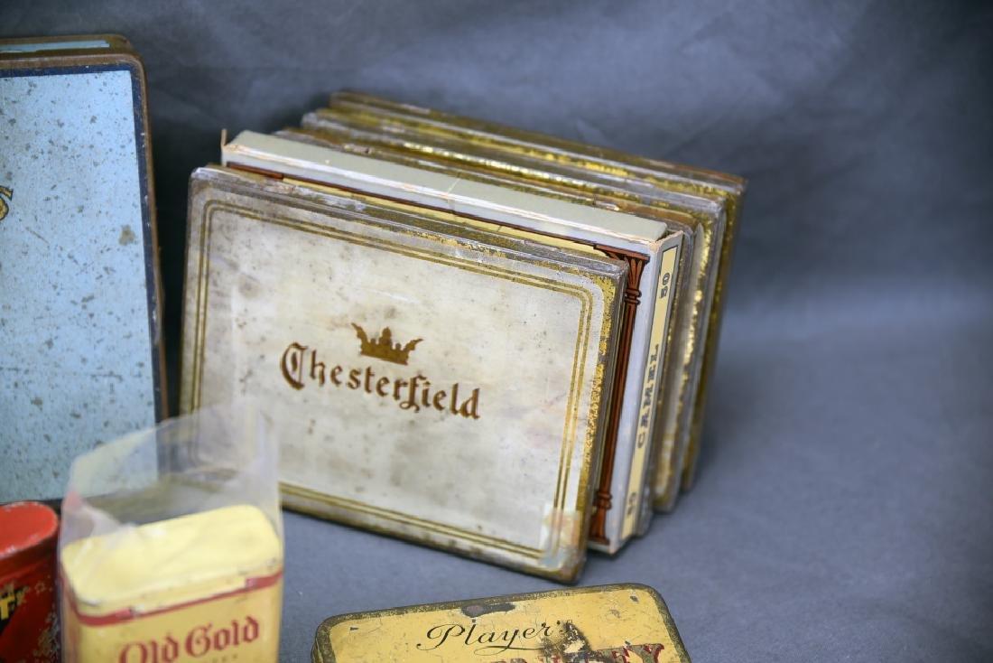 16 + Antique Cigarette Tins - 10
