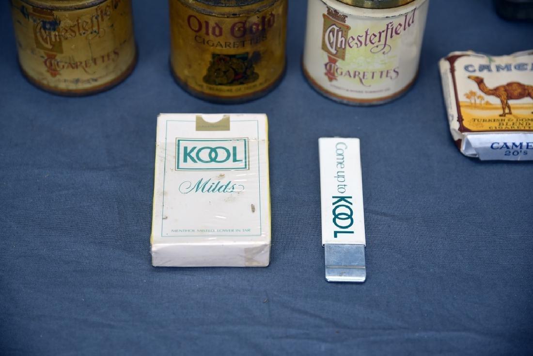16 + Antique Cigarette Tins - 2