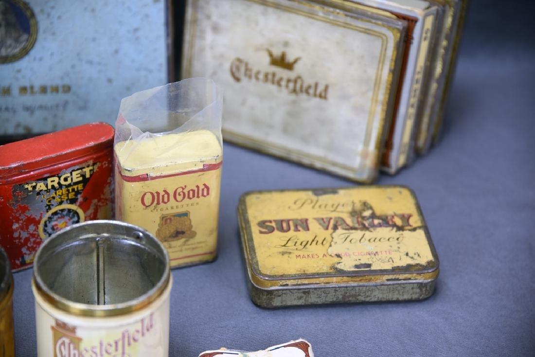 16 + Antique Cigarette Tins - 5
