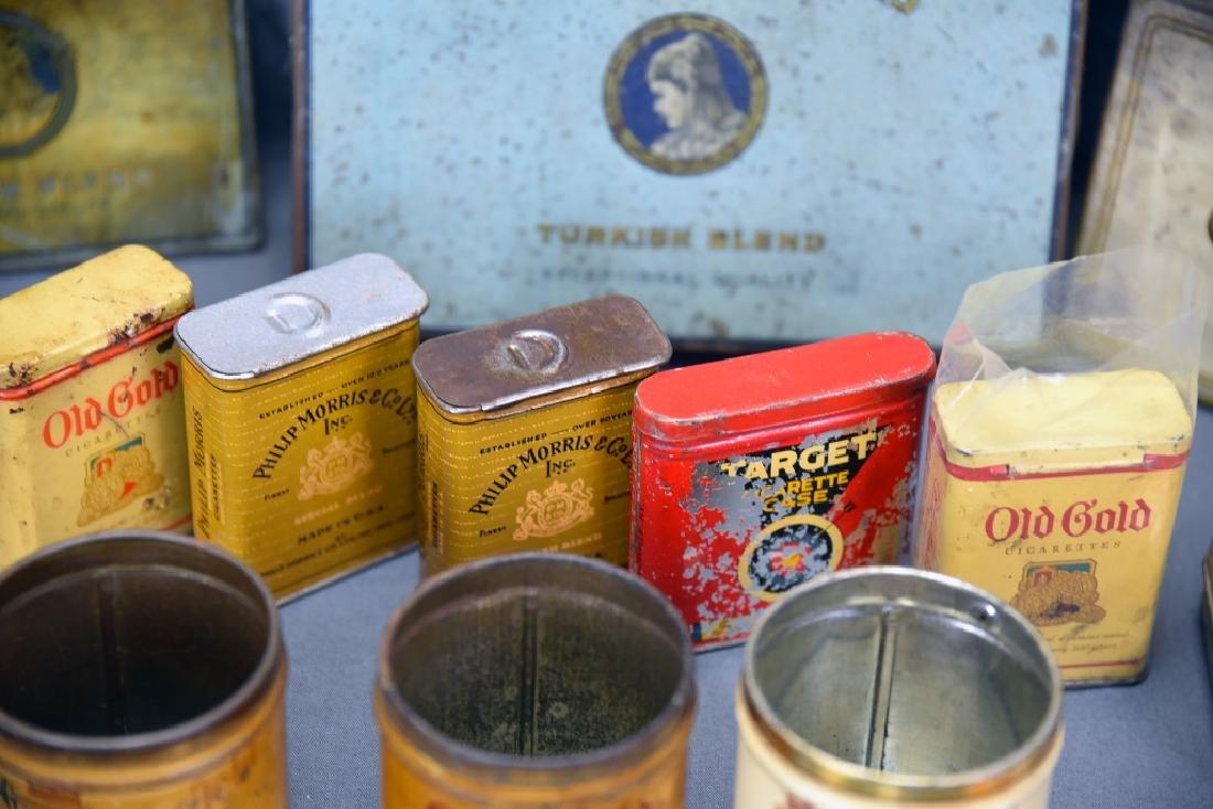 16 + Antique Cigarette Tins - 6