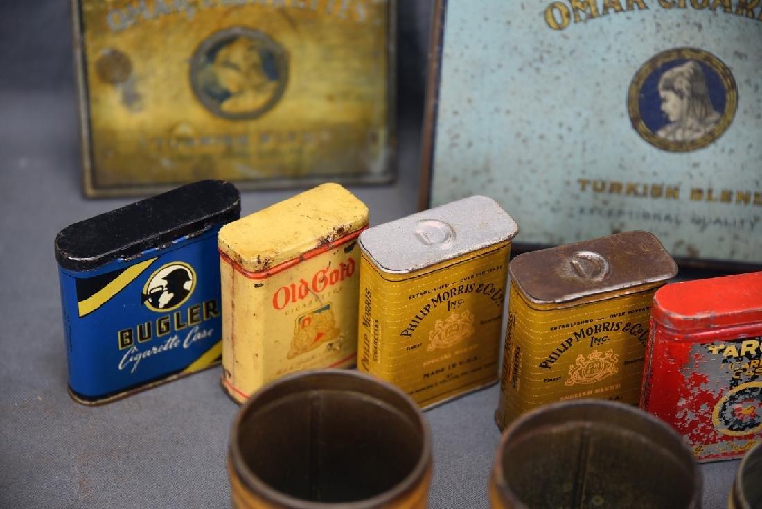 16 + Antique Cigarette Tins - 7