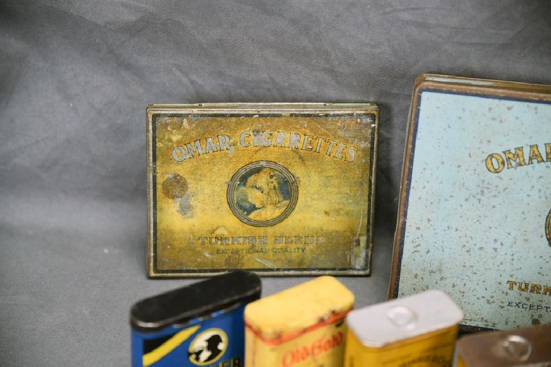 16 + Antique Cigarette Tins - 8