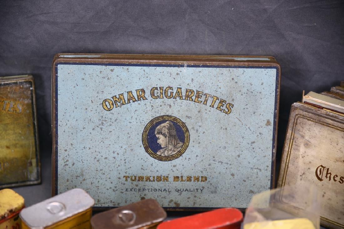 16 + Antique Cigarette Tins - 9