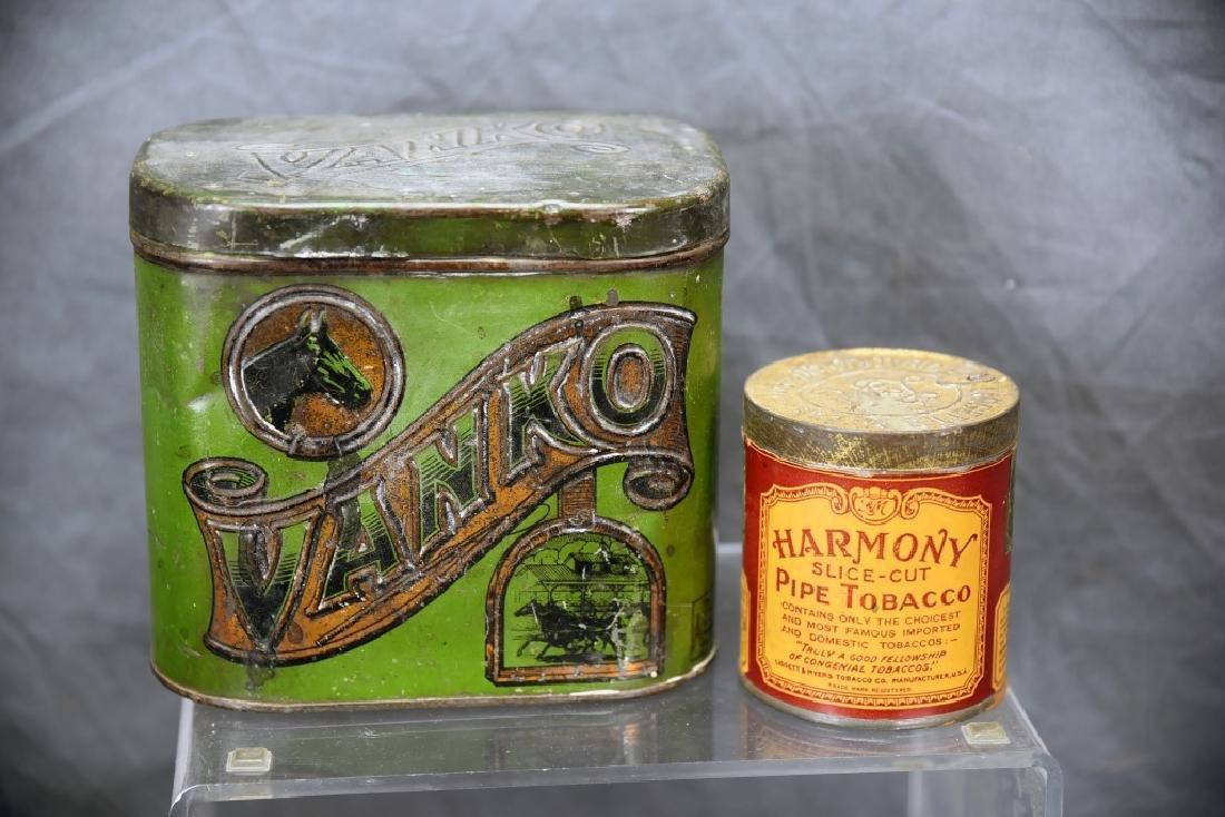 2 Tins, Vanko and Ligget Harmony