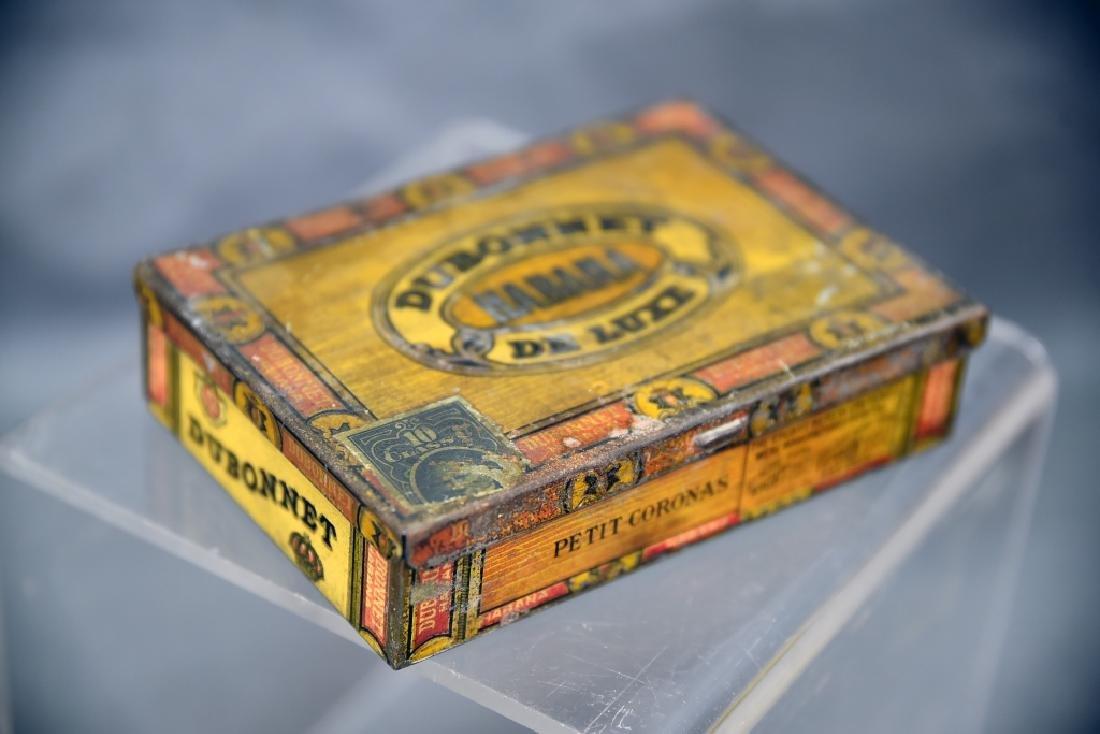 4 Cigar Boxes, 3 Tin and 1 Wood - 6