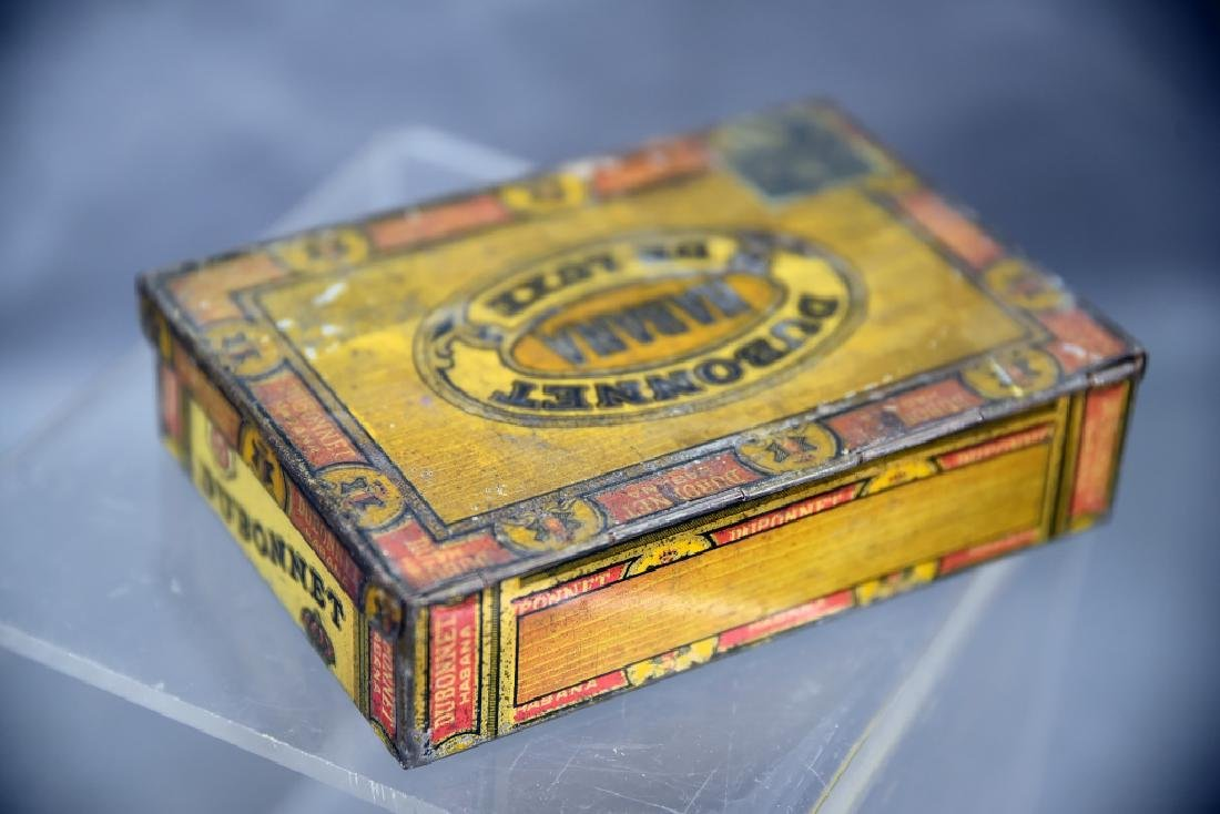 4 Cigar Boxes, 3 Tin and 1 Wood - 7