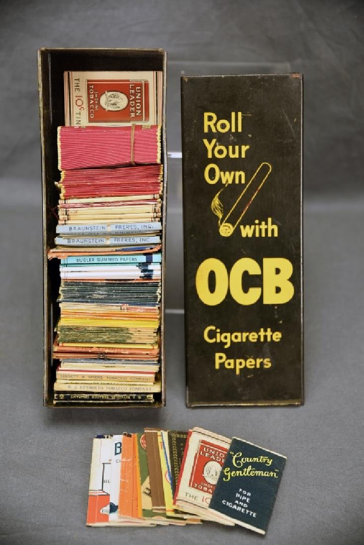OCB Cigarette Paper Display, Hundreds Papers - 5
