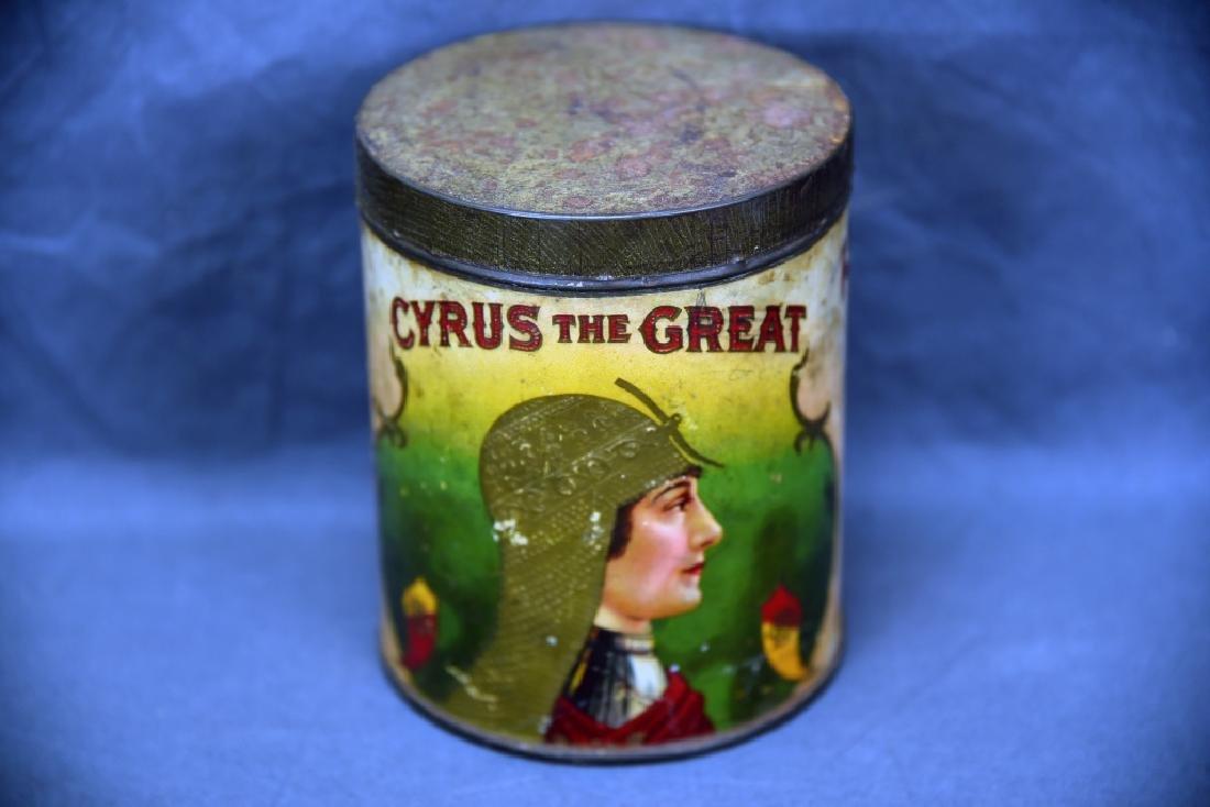 Cyrus The Great Cigar Tin