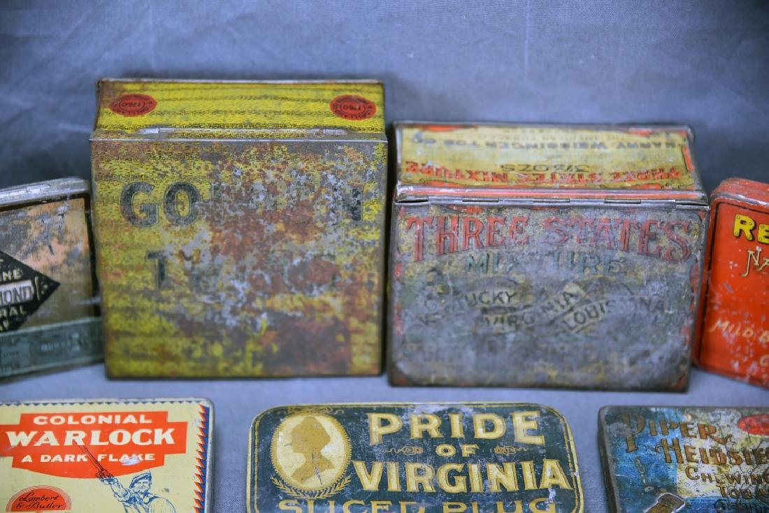 9 Tobacco and Snuff Tins - 2