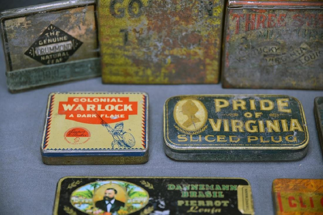 9 Tobacco and Snuff Tins - 3
