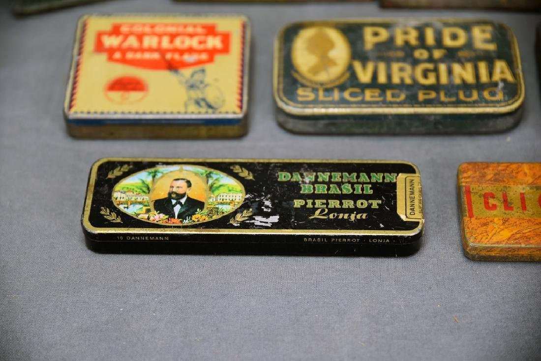 9 Tobacco and Snuff Tins - 4