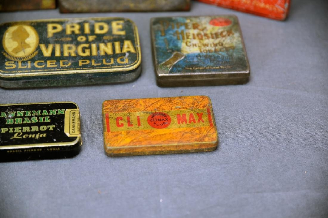 9 Tobacco and Snuff Tins - 5