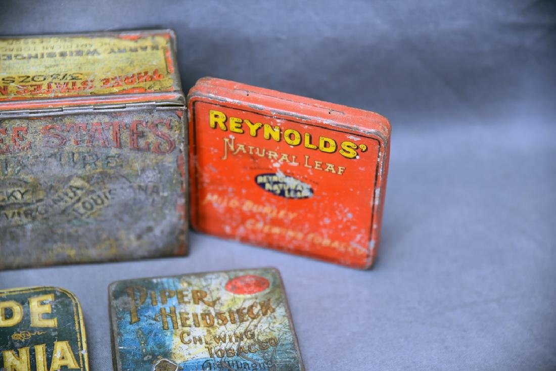 9 Tobacco and Snuff Tins - 7