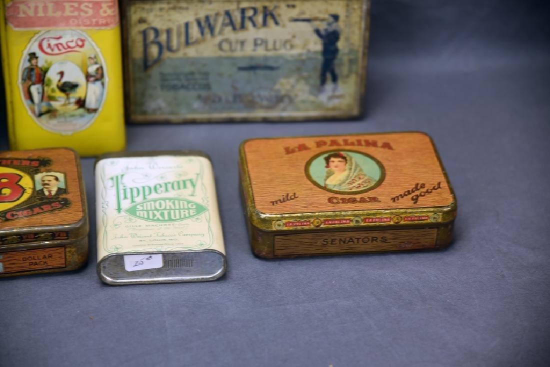 11 Tin Cigar Boxes - 3