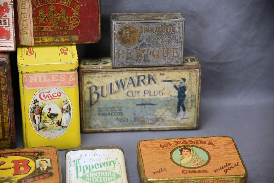 11 Tin Cigar Boxes - 4