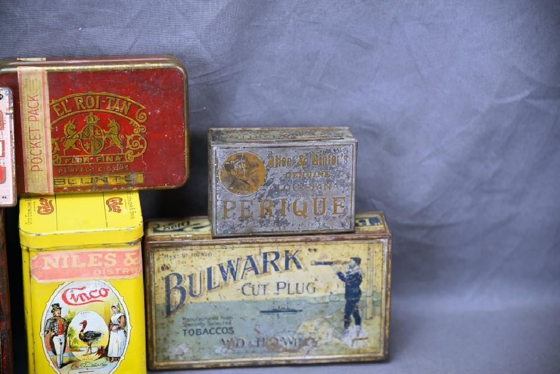 11 Tin Cigar Boxes - 5