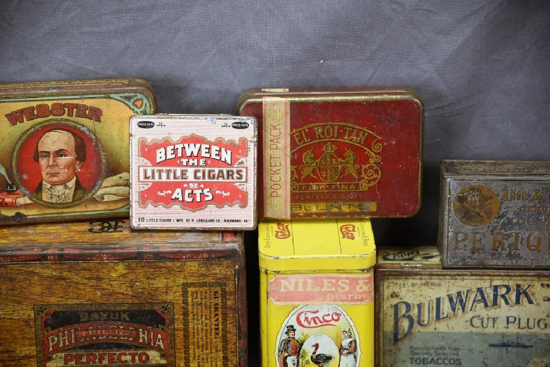 11 Tin Cigar Boxes - 6