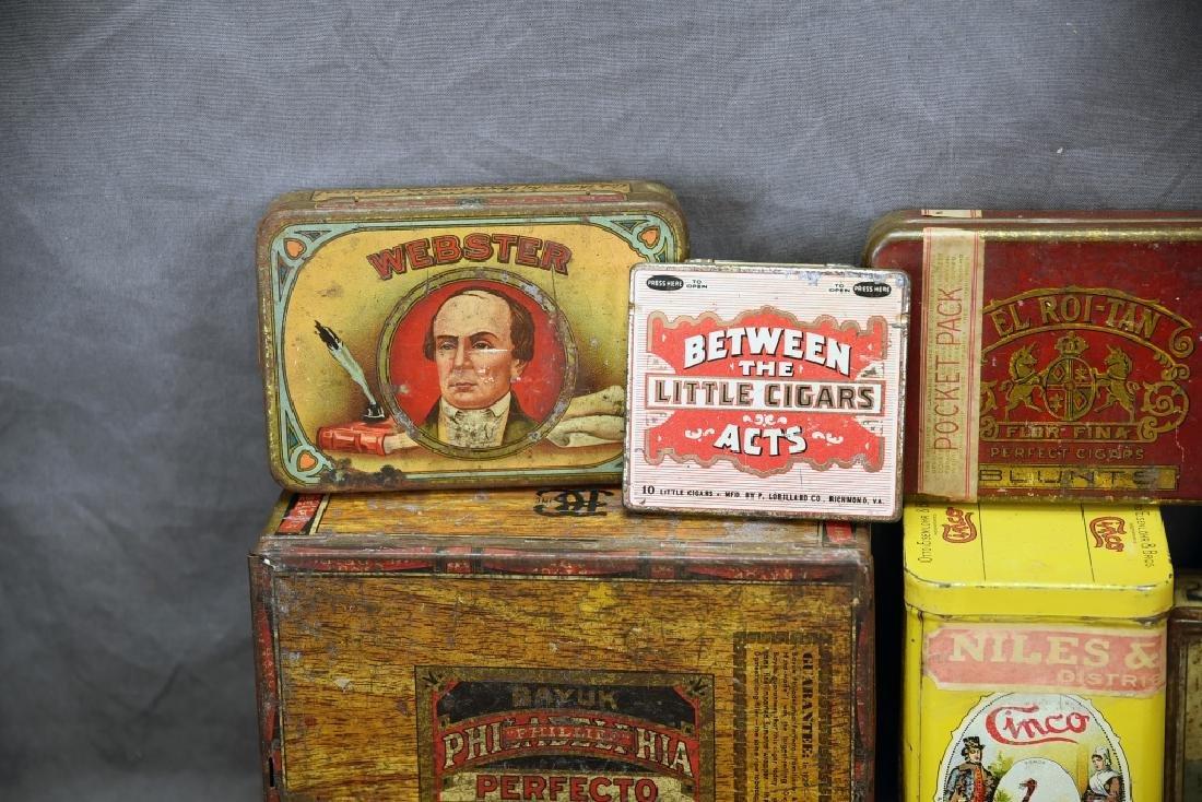 11 Tin Cigar Boxes - 7