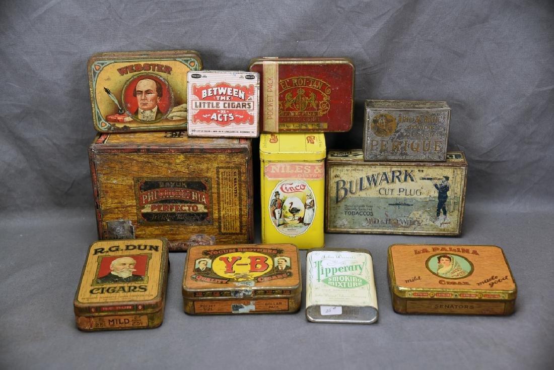 11 Tin Cigar Boxes - 8