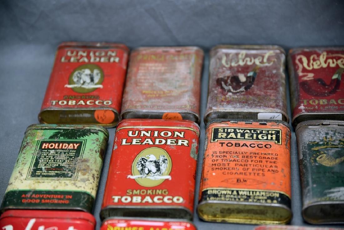 21 Pocket Tobacco Tins, Velvet Sample Tin - 2