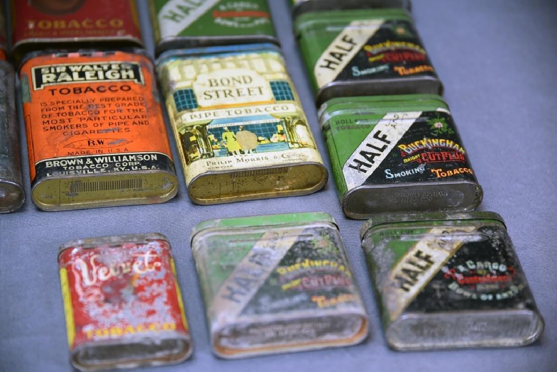 21 Pocket Tobacco Tins, Velvet Sample Tin - 5