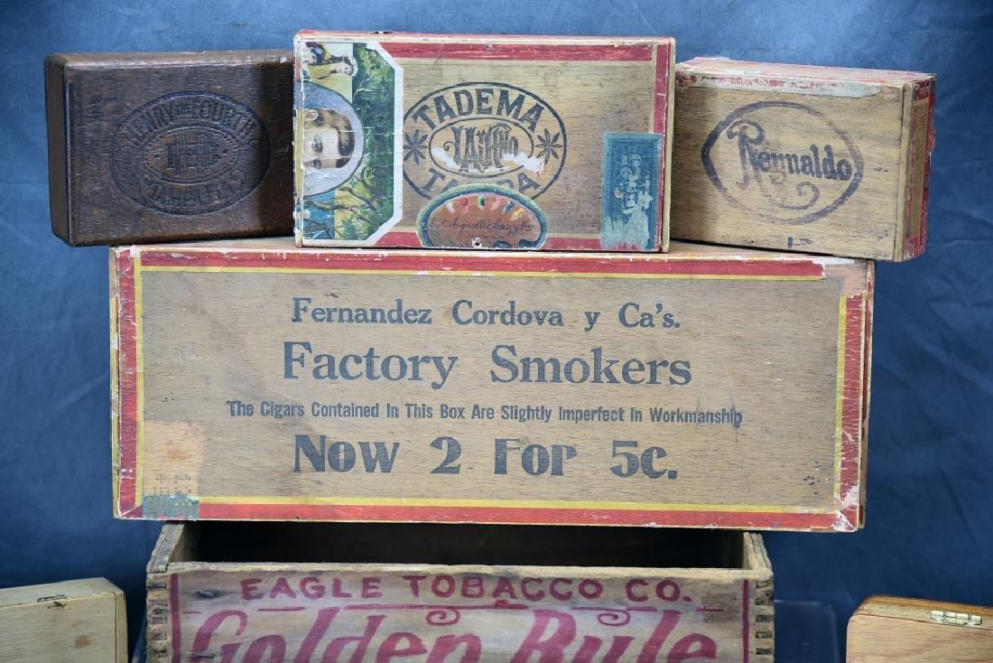 12 Wooden Cigar Boxes - 2