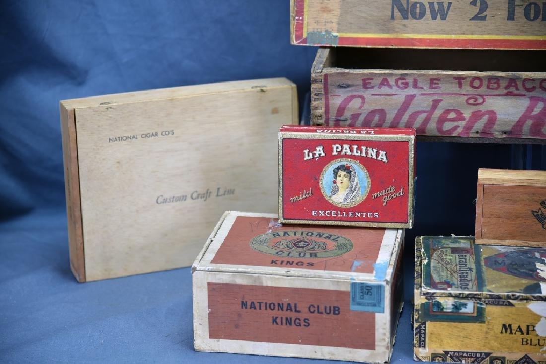 12 Wooden Cigar Boxes - 3