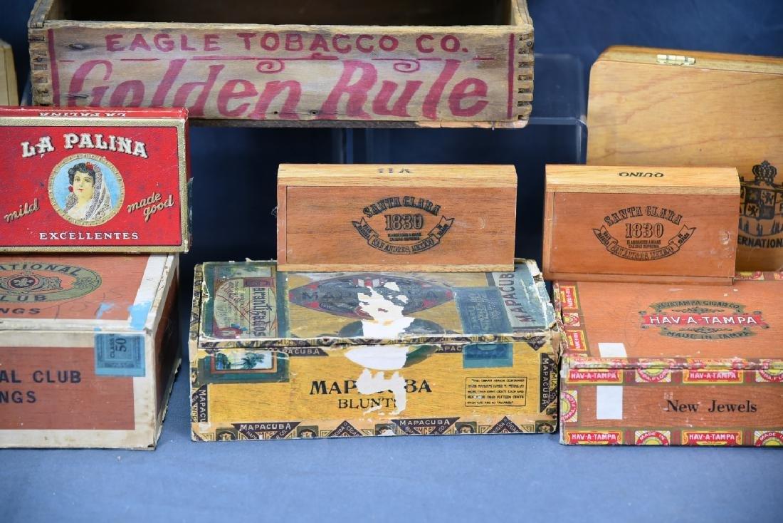 12 Wooden Cigar Boxes - 4