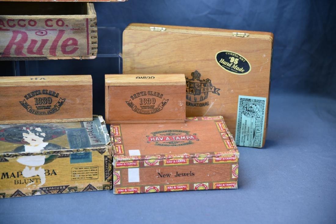 12 Wooden Cigar Boxes - 5