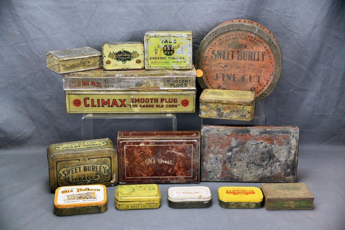 15 Tin Cigar Boxes - 8