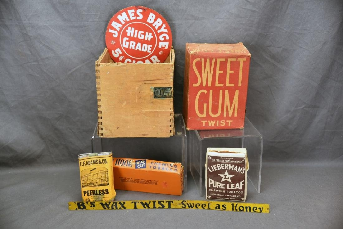 7 Cigar and Tobacco Items