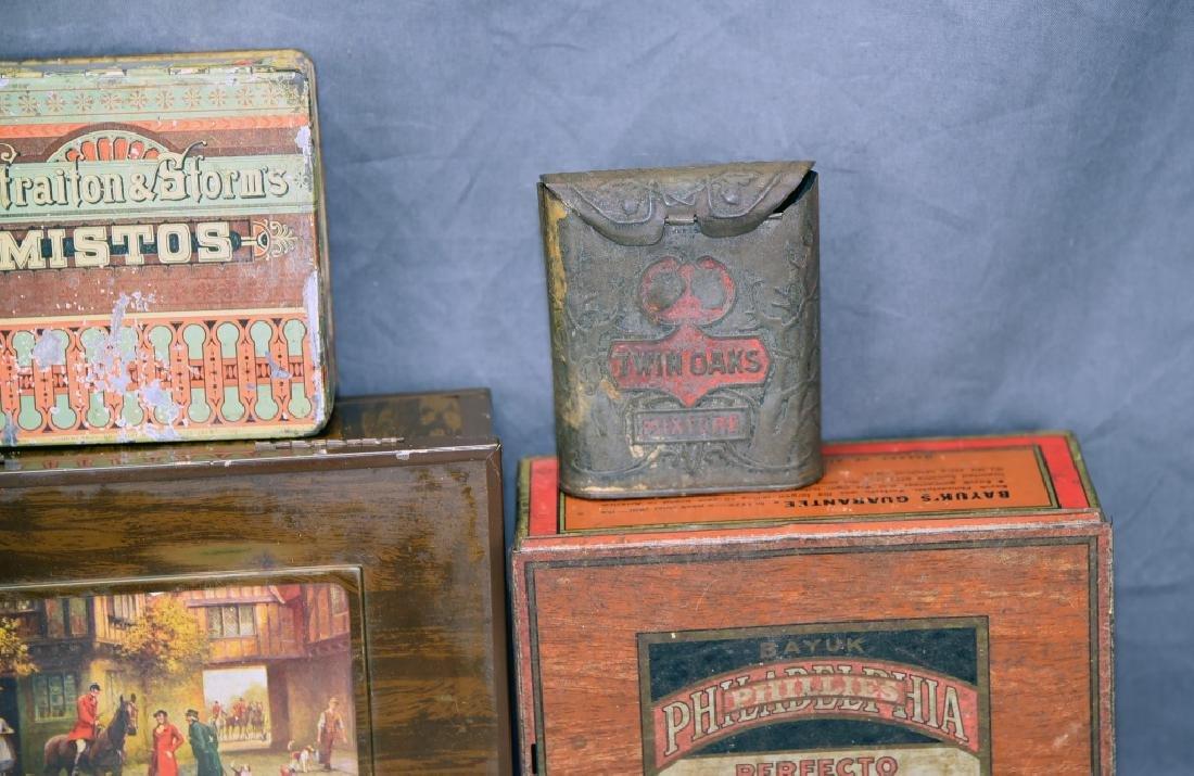 6 Cigar and Tobacco Tins - 3