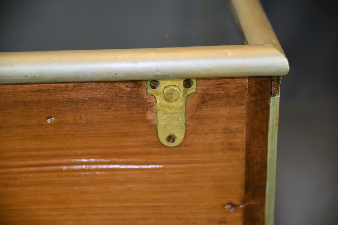 Nickle Top Opening Countertop Display Case - 6